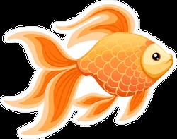 Goldfish Aquarium Sticker