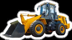 Grader And Excavator Construction Equipment Sticker