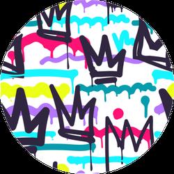 Graffiti Skate Art Sticker