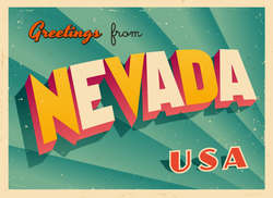 Greetings From Nevada Sticker