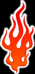 Growing Flames Sticker