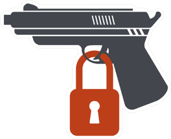 Gun Control Concept Sticker
