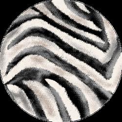 Hand Drawing Zebra Texture Sticker