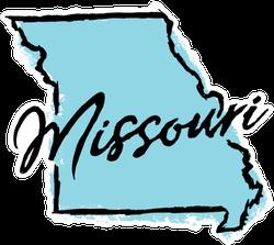 Hand Drawn Missouri State Sticker