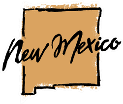 Hand Drawn New Mexico State Sticker