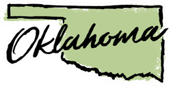 Hand Drawn Oklahoma State Sticker