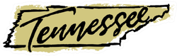 Hand Drawn Tennessee State Sticker