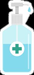 Hand Sanitizer Icon Sticker