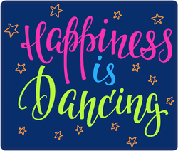 Happiness Is Dancing Sticker