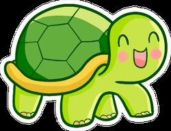 Happy Baby Turtle Sticker