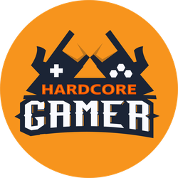 Hardcore Gamer Sticker