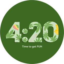 Have Fun 4:20 Sticker