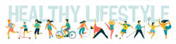 Healthy Lifestyle Sticker