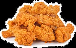 Heap Of Fried Spicy Chicken Sticker