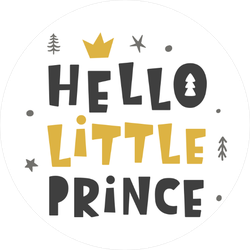 Hello Little Prince Sticker