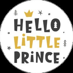 Hello Little Prince Sticker