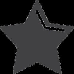 Highlighted Star Sticker