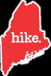 Hike Maine Sticker