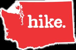 Hike Washington Sticker