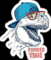 Hip T-Rex Sticker