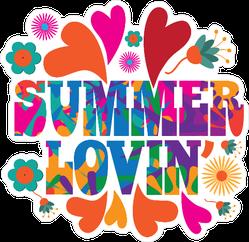 Hippie Summer Lovin Sticker