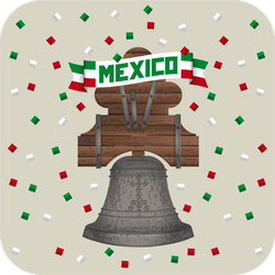 Historic Bell Mexico Sticker