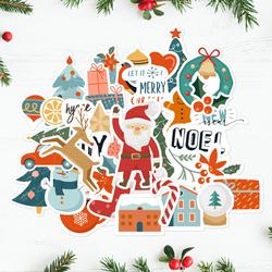 Merry Stickmas - Holiday Sticker Bundle