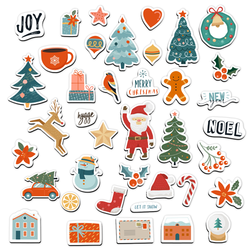 Merry Stickmas - Holiday Magnet Bundle