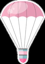 Hot Air-balloon Romantic Cartoon Sticker