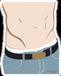 Hot Body Close Up Sticker