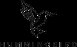 Hummingbird Logo Outline Monoline Style Sticker