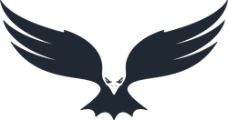 Hunting Eagle Icon Sticker