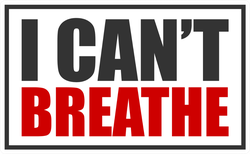 """I Can't Breathe"" BLM Sticker"