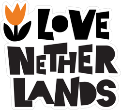 I Love Netherlands Sticker