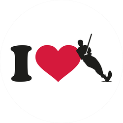 I Love Wakeboarding Sticker