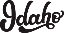 Idaho Calligraphy Sticker