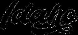 Idaho Modern Calligraphy Sticker