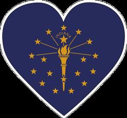Indiana Heart Sticker