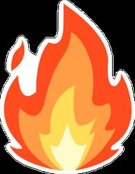 Inferno Fire Sticker