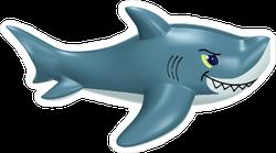 Inflatable Shark Sticker