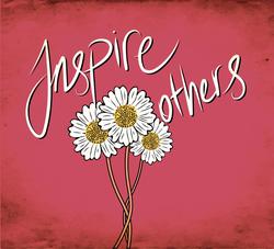 Inspire Others Daisy Sticker