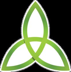 Ireland Triangle Icon Sticker