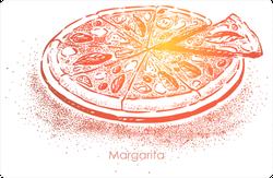 Italian Margarita Pizza Sticker