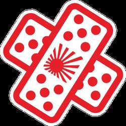JDM Band Aid Cross Sticker