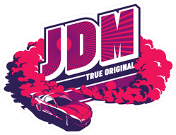 JDM Burnout Car Sticker