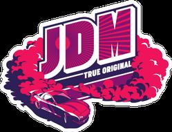 JDM Burnout Car Sticker