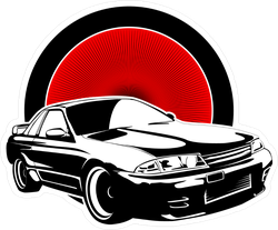 JDM Car Sticker