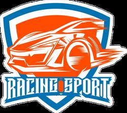 JDM Racing Sport Shield Sticker