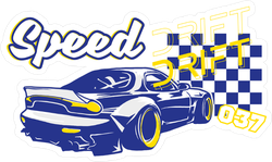 JDM Speed Drift Sticker