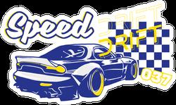 JDM Speed Drift Sticker